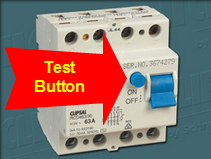 Safety Switch Test Button
