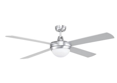 4 Blade Aluminum Ceiling Fan with Light