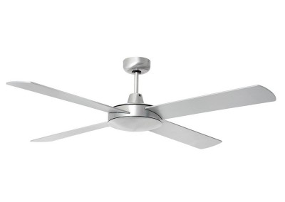 4 Blade Ceiling Fan Brushed Aluminum