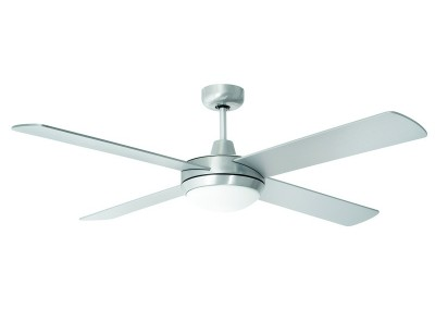 TEMPEST LED Ceiling Fan Brushed Chrome