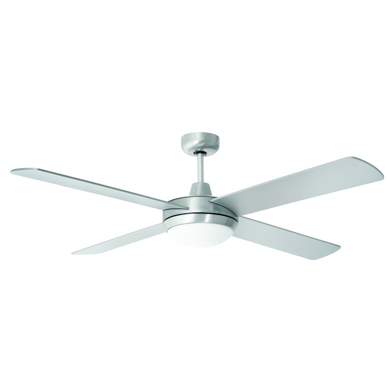 Ceiling fan installation pro electricians brisbane tempest led ceiling fan brushed chrome mozeypictures Choice Image