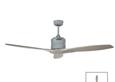 GALAXY Propellor Style Ceiling Fan Silver