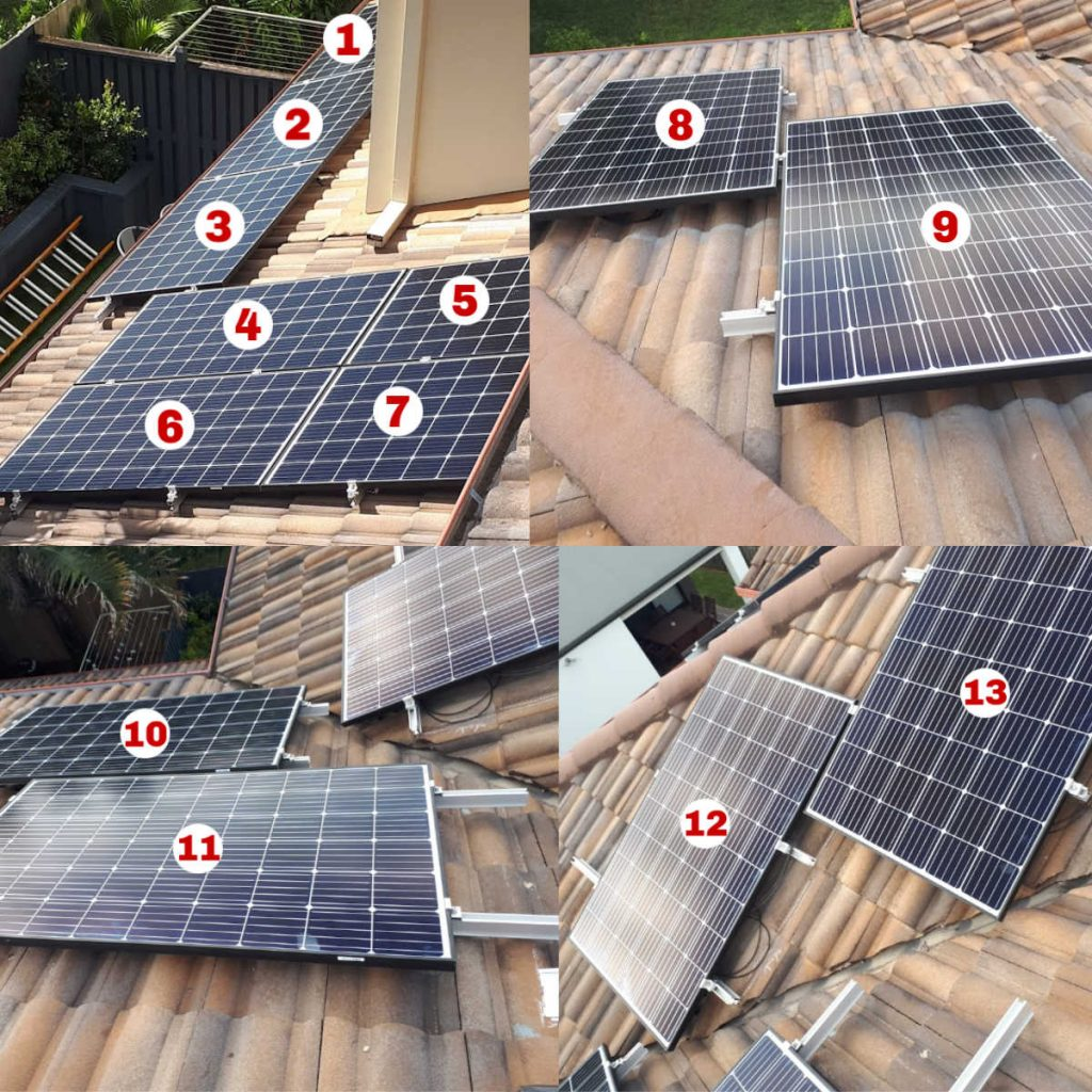 Complete solar array Hendra