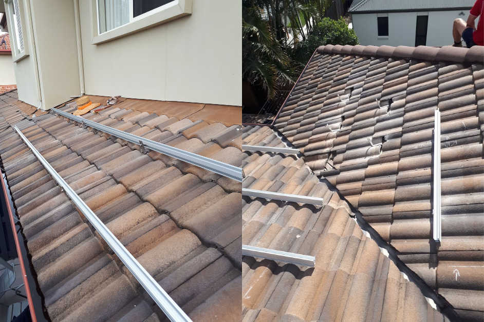 Solar installation rails Hendra
